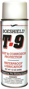 Open a can of whoop ass on corrosion! BOESHIELD T-9 was developed by Boeing to maintain aircraft. It works great on RVs.