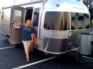 Random stop in Georgia. Doesn't our Airstream look shiny!