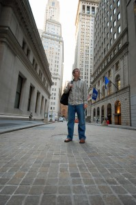 A stroll along Wall Street in search of my lost portfolio.