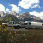 Flowers, mountains, Airstream. People often ask our favorite place to camp. HINT: it's not far from this spot.