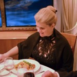 Dinners aboard the Queen Mary 2 are usually formal affairs.