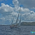 Caribbean waters are chock full of sailboats. Sailing a boat is more mentally taxing than you might think.