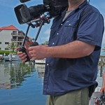 Our Director of Photography Tom deserves a medal for handing a 40-pound camera rig...in bare feet... on a moving sailboat!