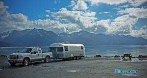 Million dollar view - $15 a night! After an earthquake in the 1960s left the waterfront ground unstable for brick-and-mortar residences, the town of Seward dedicated it all to RV camping!