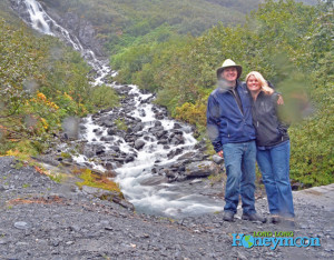Virtually impossible to snag a picture in Alaska during rainy season without at least one drop of water on the lens.