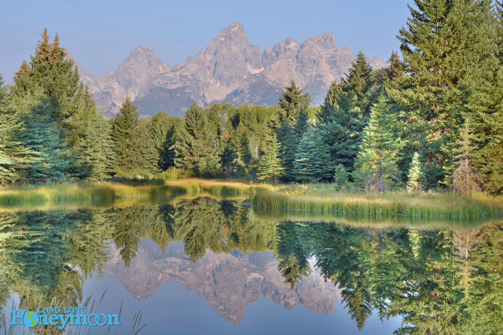 About 10 miles up the road lies this spot, Schwabacher's Landing.