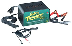The Battery Tender Plus offers more power than the Junior for faster charging. (Click the pic for more info.)